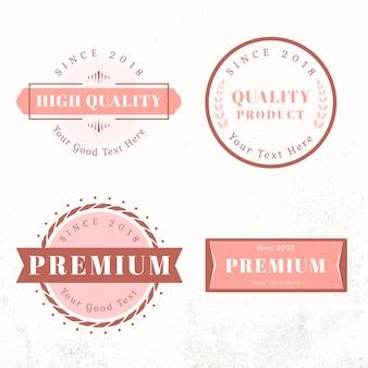 Logo ontwerpsjablonen