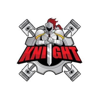 Logo ontwerpsjabloon voor club of team