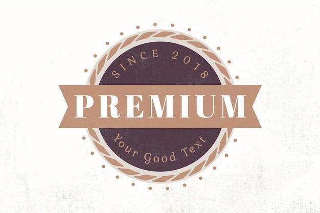 Logo ontwerpsjabloon