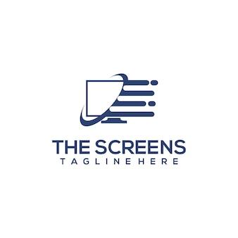 Logo op computerscherm