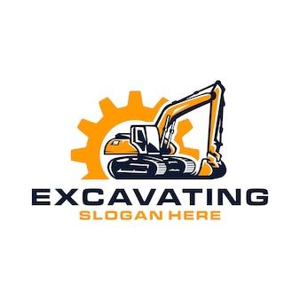 Logo opgraven