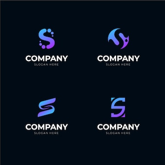 Logo-pakket met kleurovergang