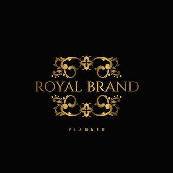 Logo premium luxe met gouden