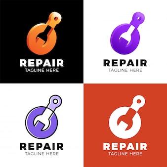 Logo-reparatie instellen
