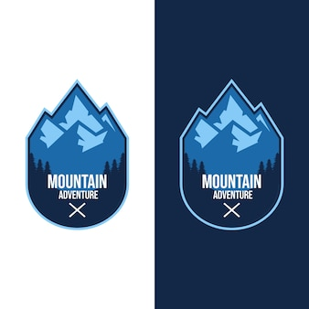 Logo's voor bergavonturen