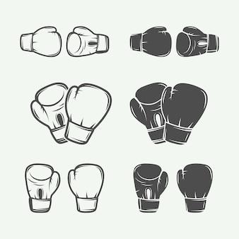 Logo's voor boksen en vechtsporten