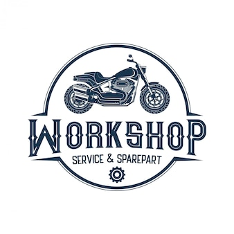 Logo's voor motorfietsen, workshops en op maat