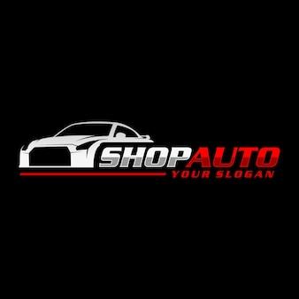 Logo shop auto
