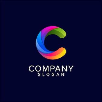 Logo sjabloon letter c