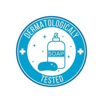 Logo sjabloon voor vloeibare en vaste zeep