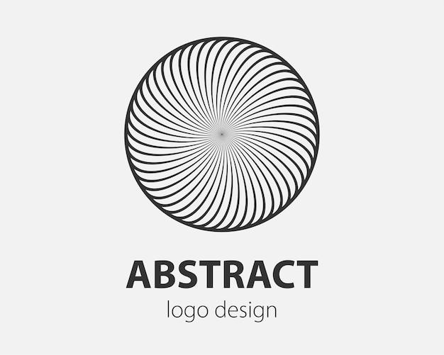 Logo spiraal en wervelbeweging