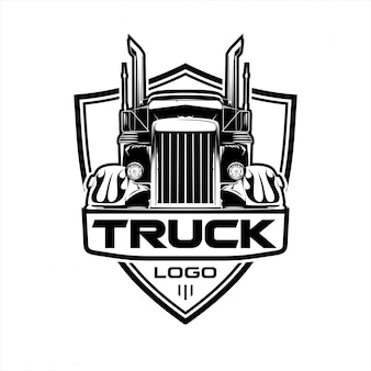 Logo transportvrachtwagen