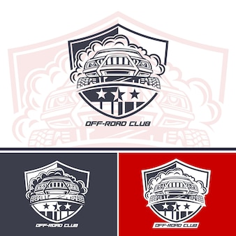 Logo van club suv-rijders