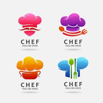 Logo van de chef