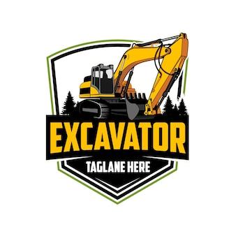 Logo van de graafmachine