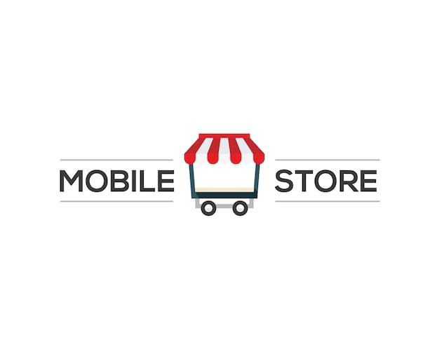 Logo van de mobiele winkel