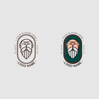 Logo van de oude man