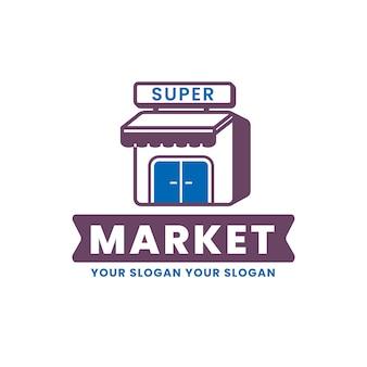 Logo van de supermarkt