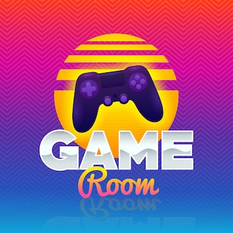 Logo van game room