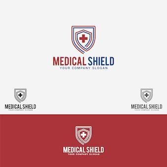 Logo van het medische schild