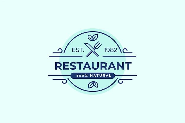 Logo van het restaurant
