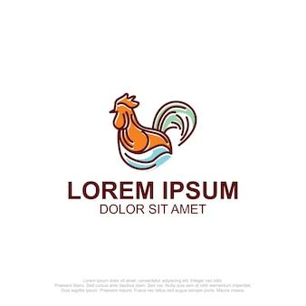 Logo van kippenmonoline