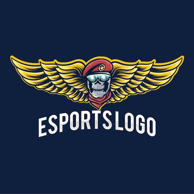 Logo van leger esport gaming