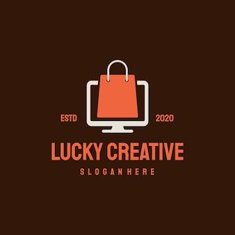 Logo van online winkel.