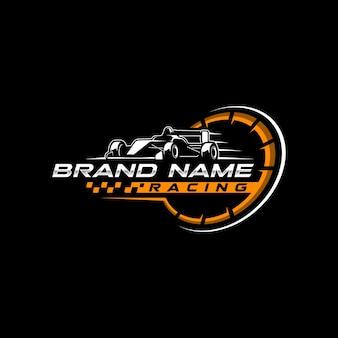 Logo van racing team