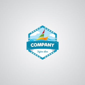 Logo van reisbadge