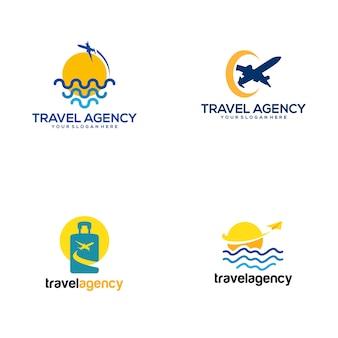 Logo van reisbureau