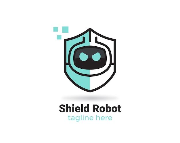 Logo van schildrobot