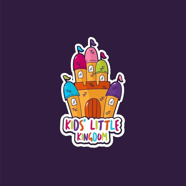 Logo voor het kinderkasteel