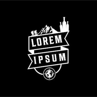 Logo voor klimsport