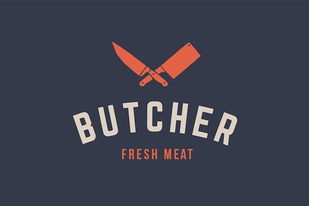 Logo voor slagerijvlees