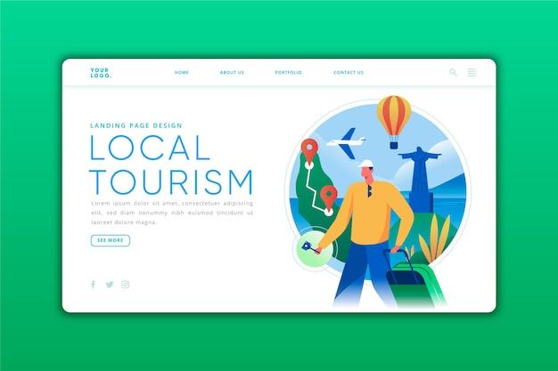 Lokaal toerisme - bestemmingspagina