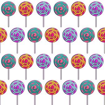 Lolly's naadloos patroon
