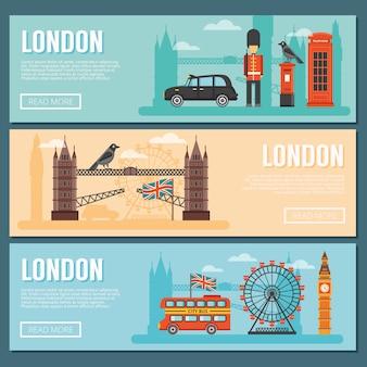 Londen banner set