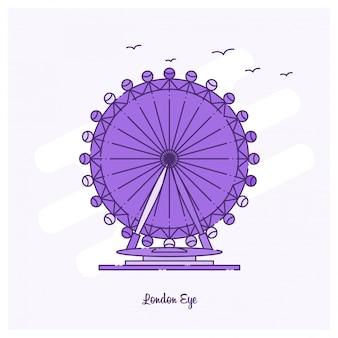 Londen eye landmark