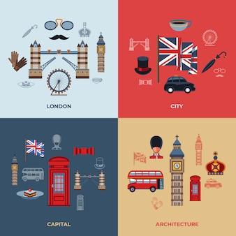 Londen pictogrammen