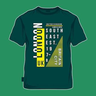 Londen stad ontwerp grafische t-shirt