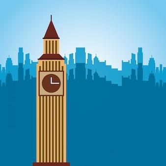 Londen stad ontwerp