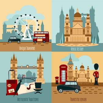 London toeristische set