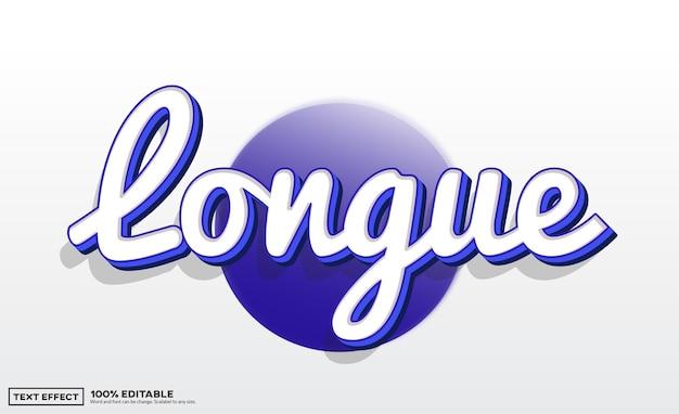 Longue-teksteffect