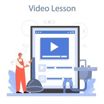 Loodgieter online service of platform