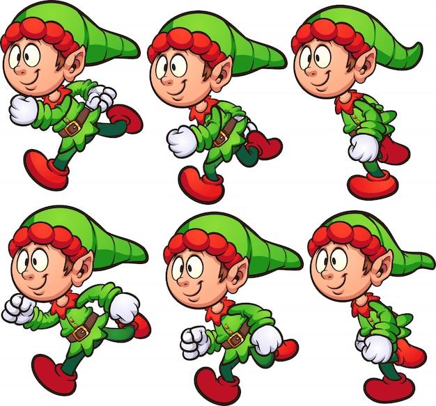 Lopende elf
