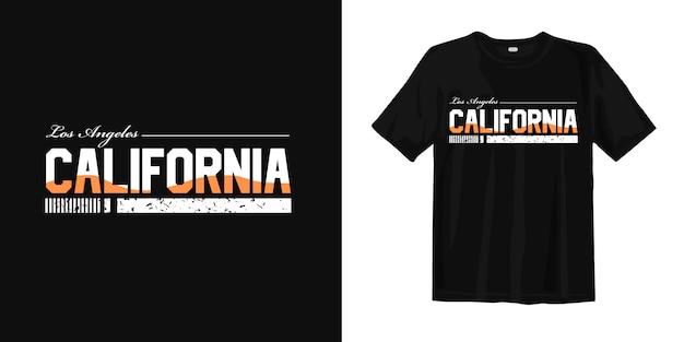Los angeles californië voor t-shirt met print