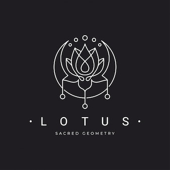 Lotus met halve maan