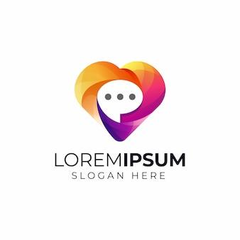 Love chat-logo
