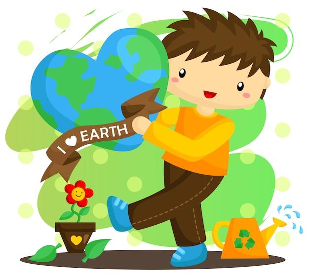 Love earth boy